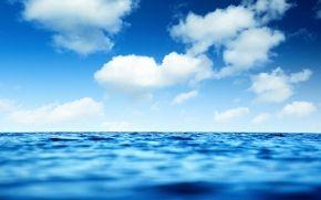 Sea, horizon, sky