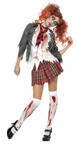 zombie nerd costumes for girls