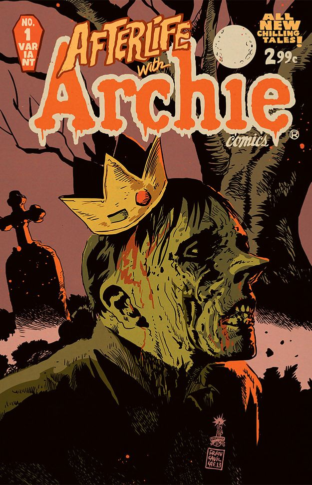 """Exclusive: The Source Of """"Afterlife With Archie"""" Zombies Revealed"""