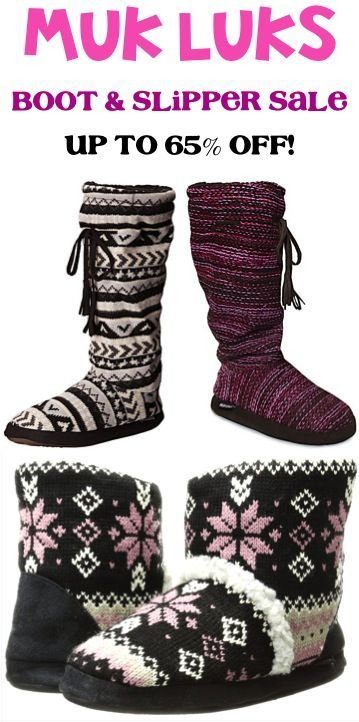 Muk Luks Boots and Slippers Sale!