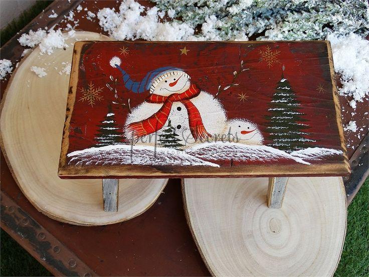 Picture of Χριστουγεννιάτικο διακοσμητικό σκαμπό