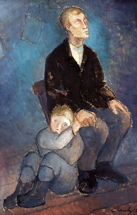 Frans Alvar Alfred Cawén - Blind (1926)