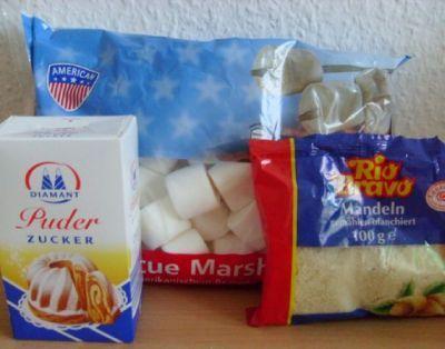 Миндальная мастика : Мастика, марципан, кремы