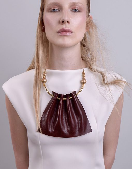 Leather Necklace FW1516 ELITE SERIES Collection
