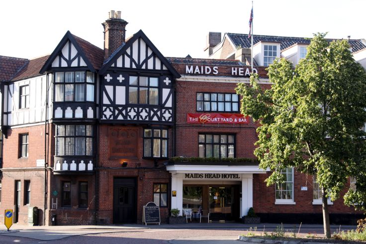 The Maids Head Hotel, an independent hotel in the heart of the Cathedral Quarter with a fabulous restaurant the Winepress@Wensum