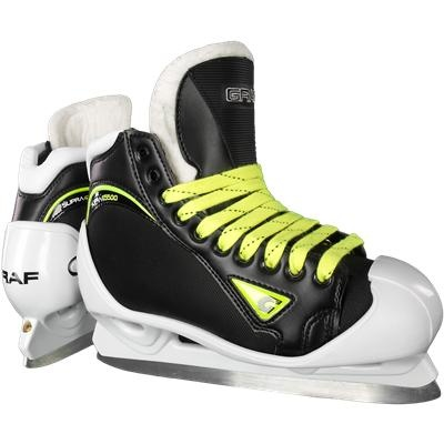 Graf Supra G5500 Goalie Skates @ http://goalie.totalhockey.com/product/Supra_G5500_Goalie_Skates/itm/8926-41/?mtx_id=0 $349.99