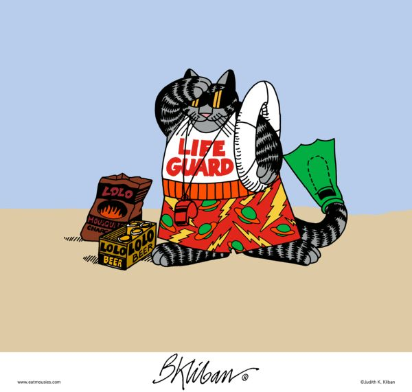 Kliban's Cats Comic Strip, November 08, 2016     on GoComics.com