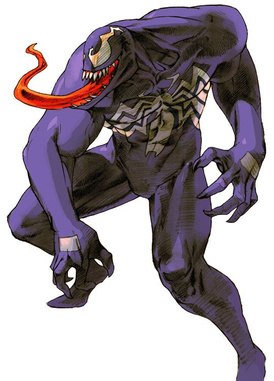 Marvel vs. Capcom 2: Venom (Spider-Man)