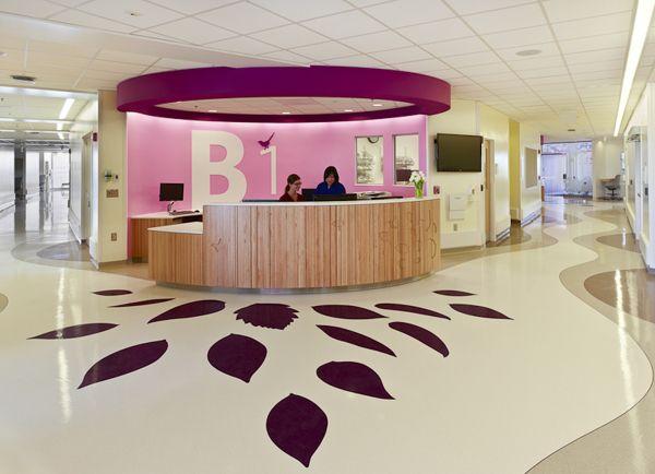 Nationwide Children's Hospital Interiors by Brad Feinknopf, via Behance