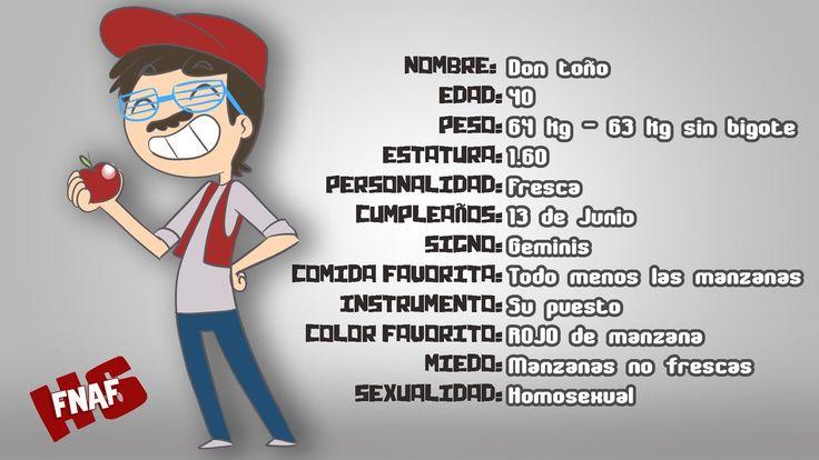 Ficha de Don Toño (Hecha por Edd00chan)