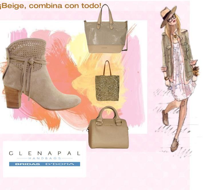 Se impone el beig ¿con cuál de los tres bolsos te quedas? #bridas #ddona #clenapal