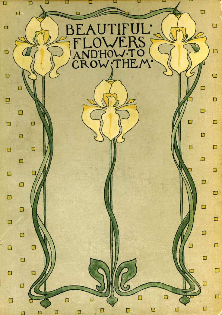 """Beautiful Flowers & How to Grow Them"" by Horace J. Wright & Walter P. Wright, 1922 - book cover"