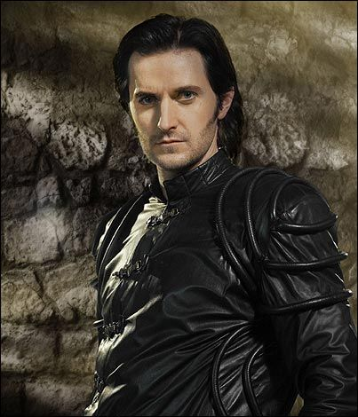 Sir Guy of Gisborne played by Richard Armitage ( you aren't supposed to like the bad guys but if they didn't choose such a gorgeous villain than we wouldn't have this problem)
