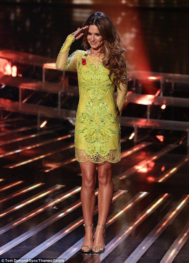 Tamaras yellow dress x factor on