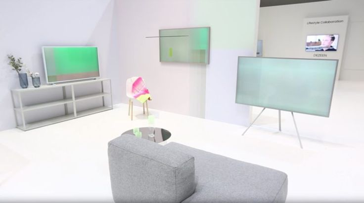 Scholten & Baijings Paints the Samsung FRAME TV Something Colorful