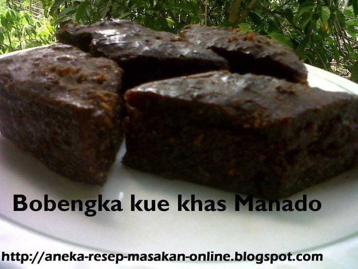 Bobengka kue khas Manado  Yuk simak resepnya http://aneka-resep-masakan-online.blogspot.co.id/2015/12/resep-kue-bobengka-asli-manado.html
