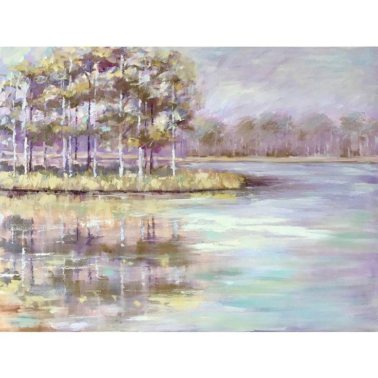 Mississippi Pond, 30x40, oil painting, www.peytonhutchinson.com