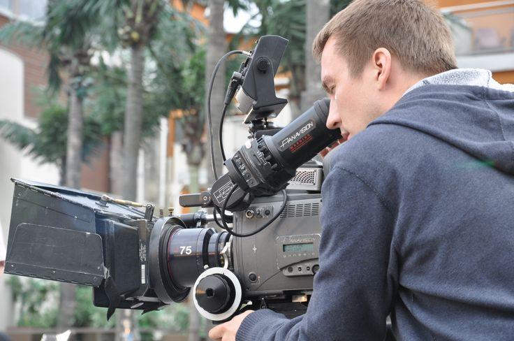 Szymon Lenkowski PSC , director of photography at work , 4K cinema , behind the scenes , DOP , PSC