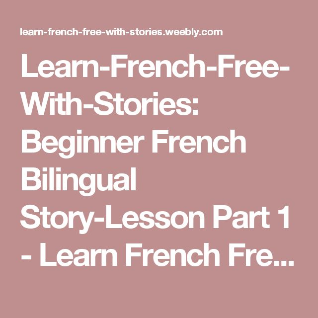 how to learn french online free for beginners