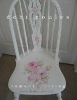 Antique Roses Chair