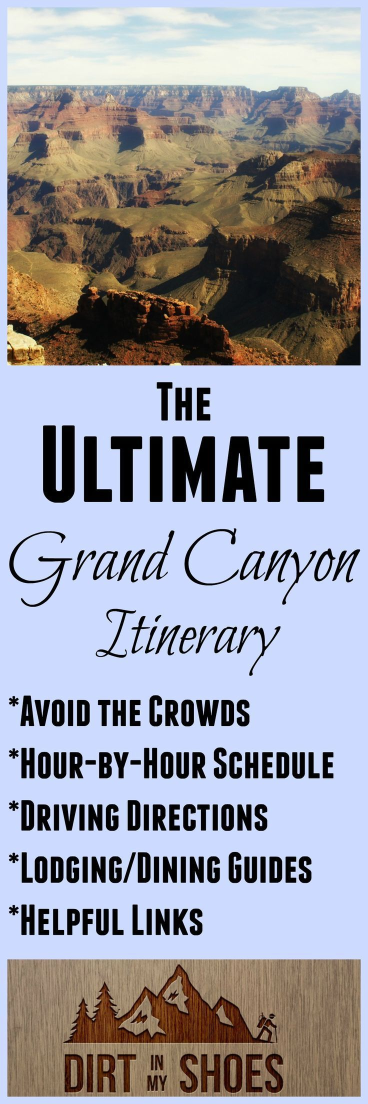 See the best that Grand Canyon National Park has to offer with this amazing itinerary written by a former park ranger. This made our trip AWESOME!!