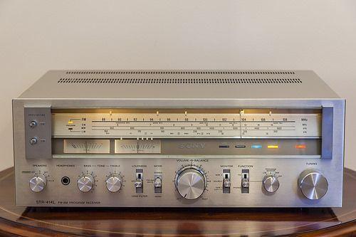 Analog Dreams • Sony STR-414L AM/FM Program Receiver (1978-79)   ...