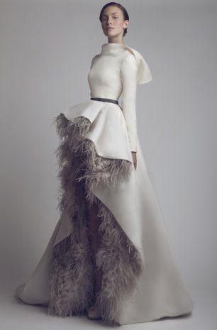 Платье невесты от кутюр. Модный бренд ASHI Studio