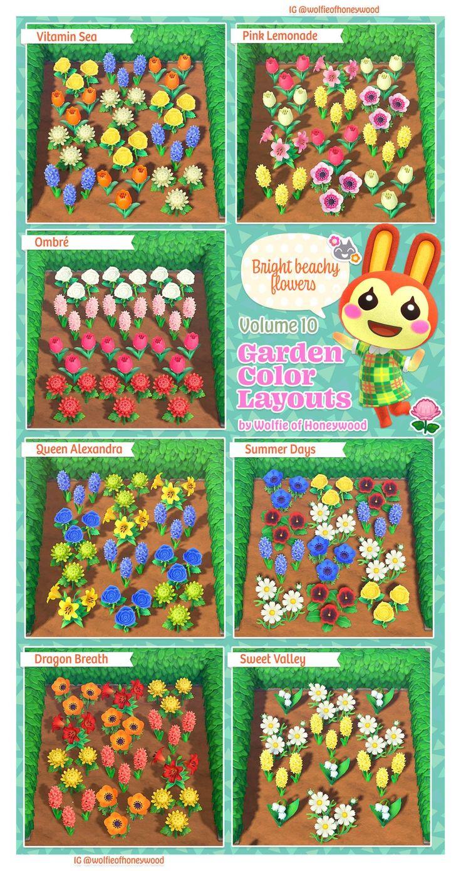 Reddit - AnimalCrossing - Garden Color Layouts Volume 10 ...