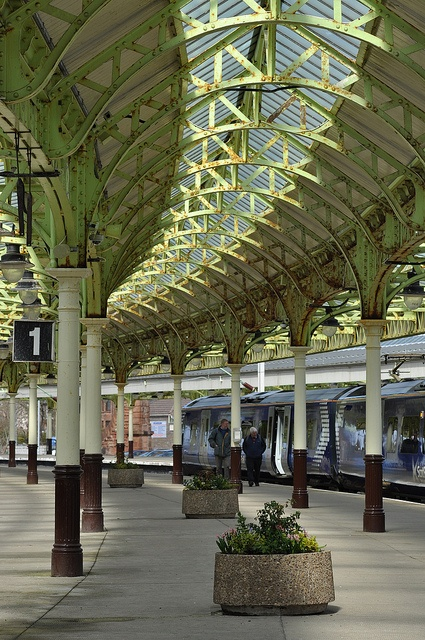 Wemyss Bay - pretty British Rail station - Wemyss Bay /ˌwiːmz ˈbeɪ/ is a village on the coast of the Firth of Clyde in Inverclyde in the west central Lowlands of Scotland.