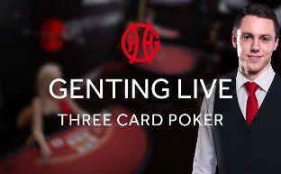 Playing Three Card Poker at Genting's exclusive Live Casino - online is the closest thing to playing in a real casino.