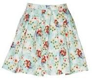 mirrou floral skirt