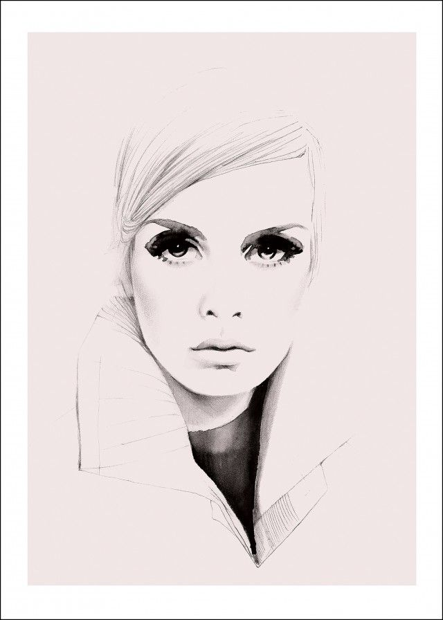 Twiggy in pink -Magdalena Tyboni