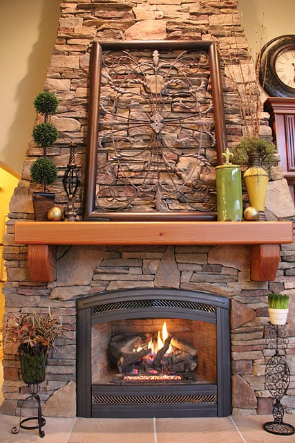 Fireplace / Decorations like the wrought iron piece