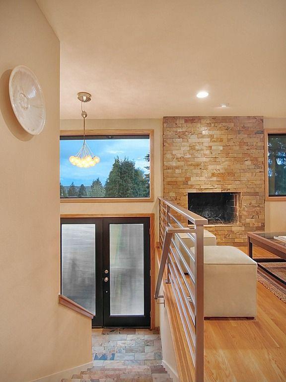 17 best images about split level ideas on pinterest for Split foyer house designs