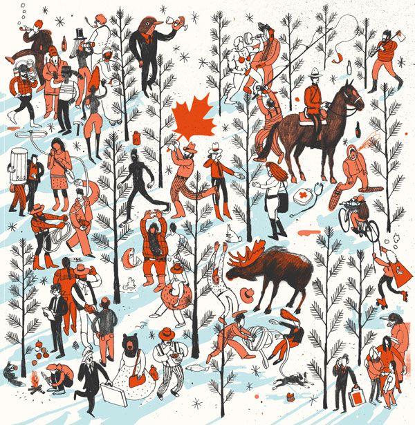 Josh Cochran: Cochran Unicorns, Art, Editorial Illustration, Illustration Inspiration, Handmade Illustration, Joshcochran Nets, Josh Cochran, Design, Contemporary Illustration