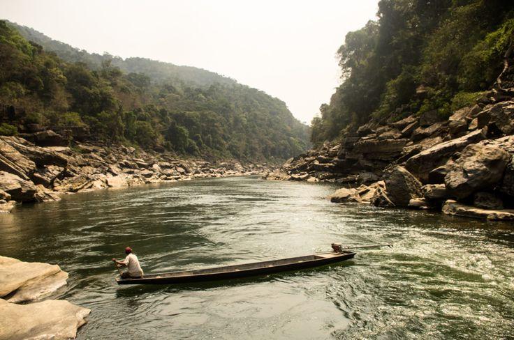 Nam Kading river NPA, Laos
