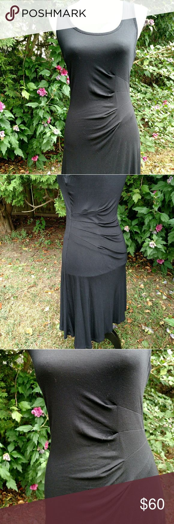Calvin Klein Sexy Little Black Dress NWOT Gorgeous! Super soft cotton, very flattering fit! This beauty was washed once, but never worn! Calvin Klein Dresses