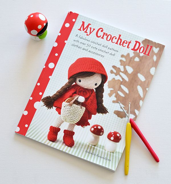 Down Grapevine Lane: On My Bookshelf: My Crochet Doll