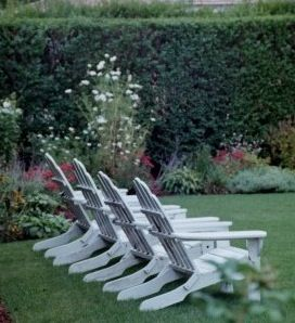 Nantucket Adirondack Chairs~