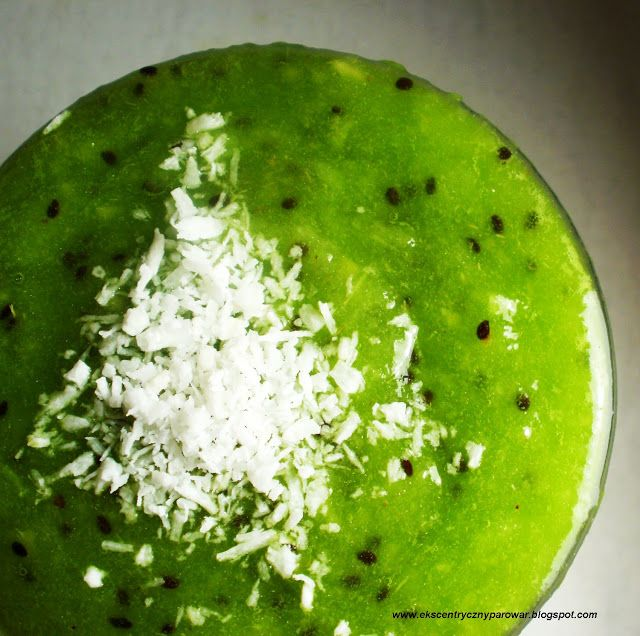 Ekscentryczny Parowar: Kiwi- szklanka pełna śniadania