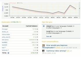 Logiciel gratuit Online Moneytrackin Fr 2012 - Licence gratuite - Gestion et contrôle de vos finances en ligne et comptabilité