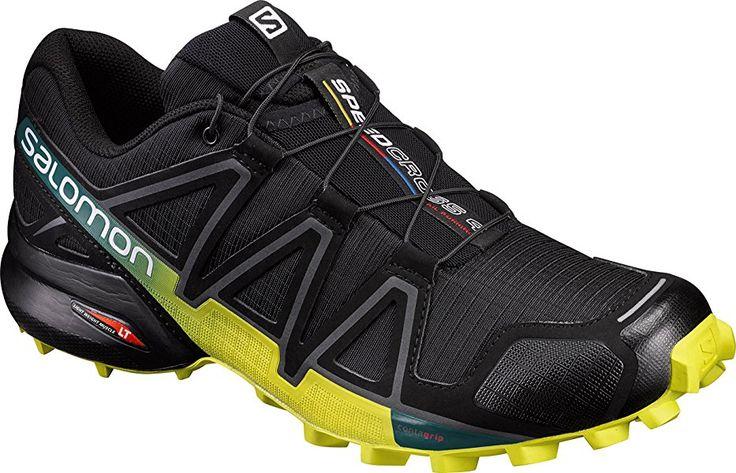 Salomon Men's Speedcross 4 Trail Running Shoes, Black (Black/Everglade/Sulphur Spring), 9.5 UK: Amazon.co.uk: Shoes & Bags