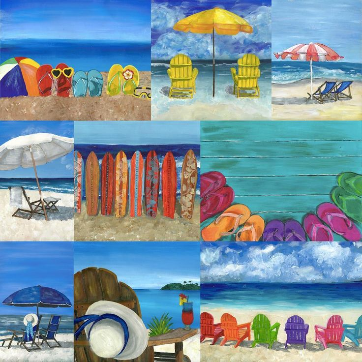 awesome Beach Collection #acrylicpainting #stationery #stationerylove #stationerylover #...  Beach Collection #acrylicpainting #stationery #stationerylove #stationerylover #beach #ocean #sunglasses #beachball #rainbow #flipflops #tropicaldri...