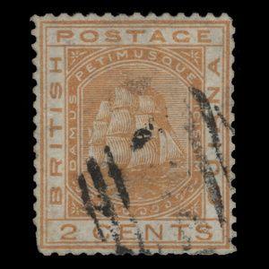 British Guiana 1876 (Variety) 2c Seal of Colony