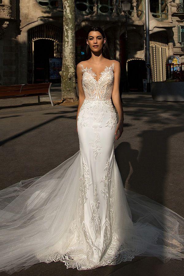Milla Nova Bridal Wedding Dresses 2017 bler / http://www.himisspuff.com/milla-nova-bridal-2017-wedding-dresses/9/