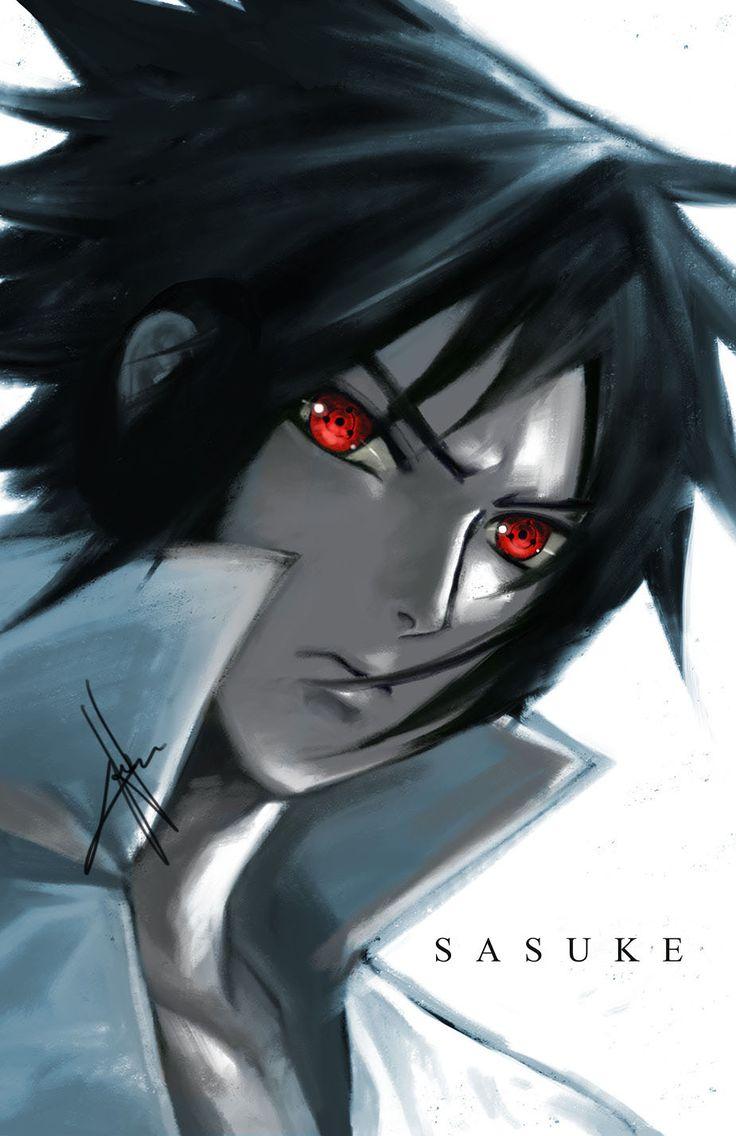 """""""Sharingan Eyes - Sasuke"""" by morbidprince."""