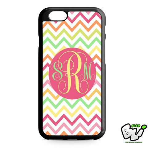 Chevron Monogram iPhone 6 Case | iPhone 6S Case