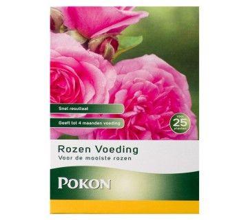 Pokon Rozen Voeding 800gr is een hoogwaardige meststof voor rozen. Om uw rozen een diepgroen blad en uitbundige groei te geven gebruikt u onze rozen voeding.