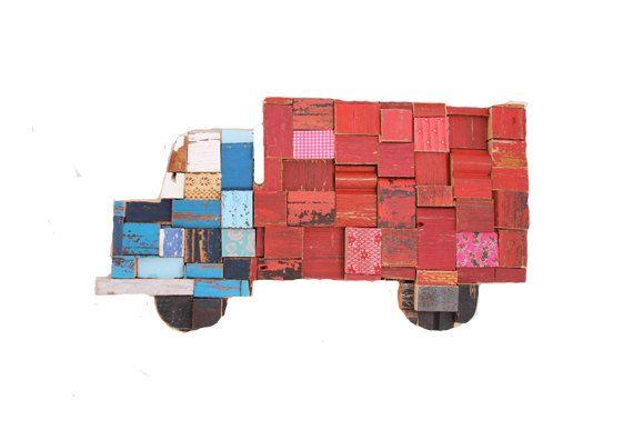 Truck Blocks by PhilosophieBySophie on Etsy
