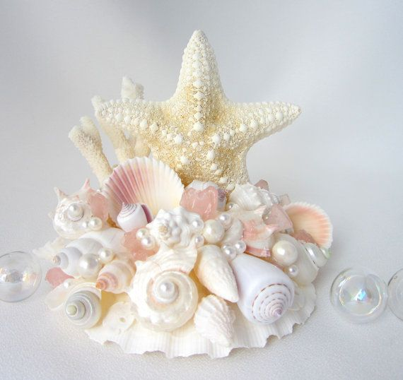Hey, I found this really awesome Etsy listing at https://www.etsy.com/listing/156337603/beach-wedding-starfish-cake-topper